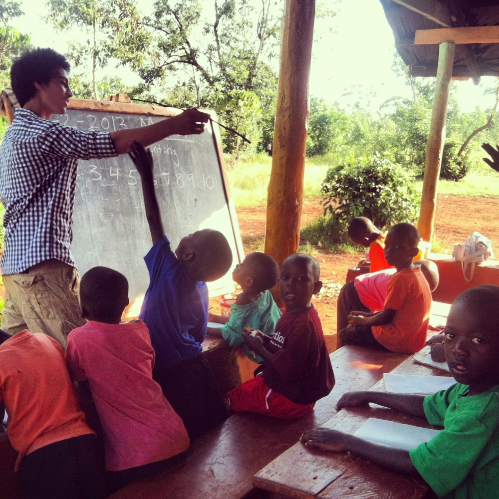 It has been so amazing having my brother, Cass, around this past month. He has really taken a liking to teaching the SOUL preprimary kids...they absolutely adore him, and rightfully so! :)